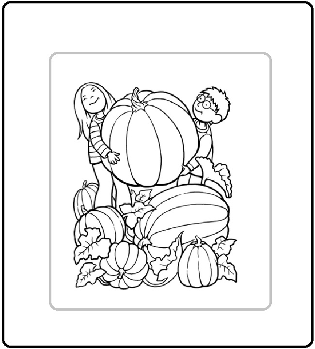 pumpkin coloring pages to print for kids