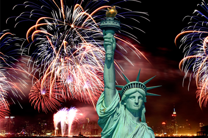 Independence day Celebrations ( United States of America ) Fire Works