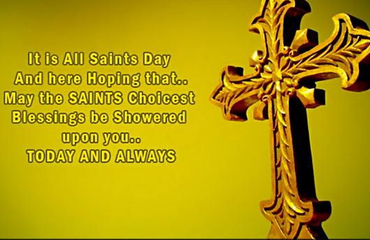 all saints day wishes