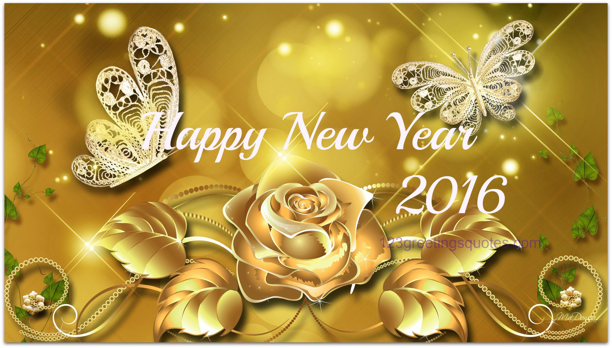Happy new year 2016 first wishes