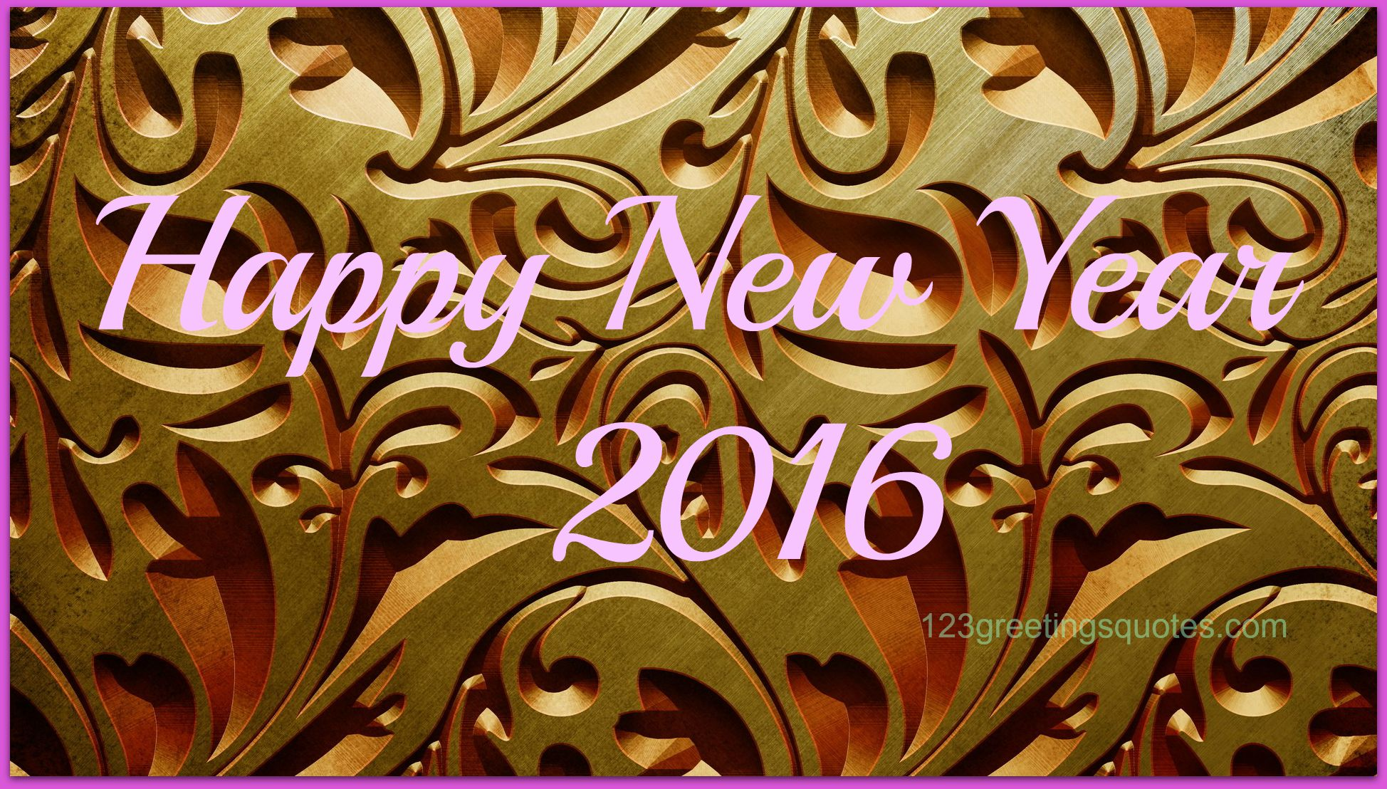 Nice Happy new year 2016 first wishes