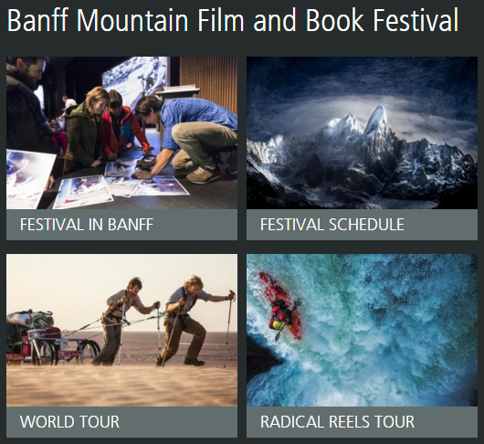 Banff Mountain Film and Book Festival 2015