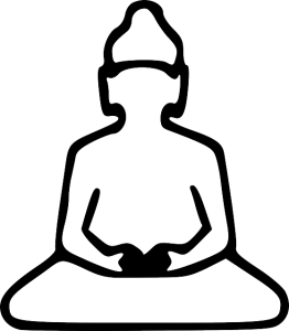 Printable Kids Coloring Pages for budda