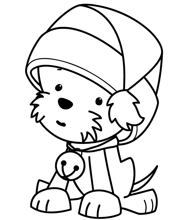 kids christmas coloring pages to print easy