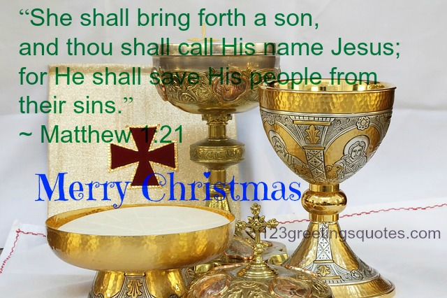 Biblical Quotes for Christmas Cards