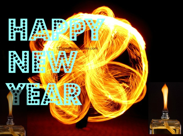 New Year 2016 Greetings for friends