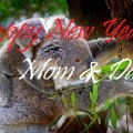 New Year Wishes For Mother from son daughter