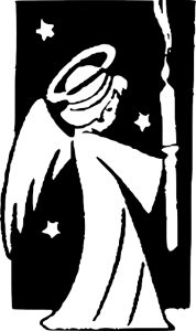 angel-Christian Coloring Pages for Kids from Bible