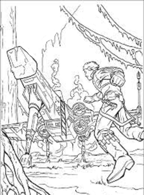 star wars the clone wars coloring book