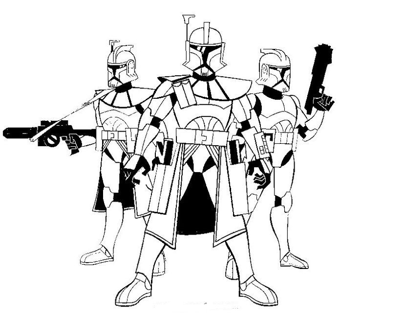 star wars the clone wars coloring pages free download