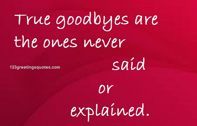 Good Bye Quotes for seniors – Touching Farewell Words Images