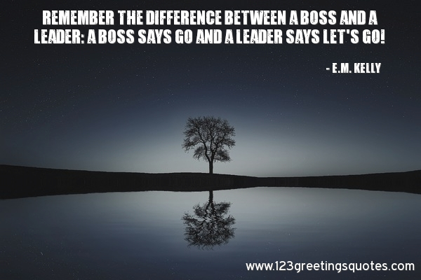 Leadership Inspirational Quotes