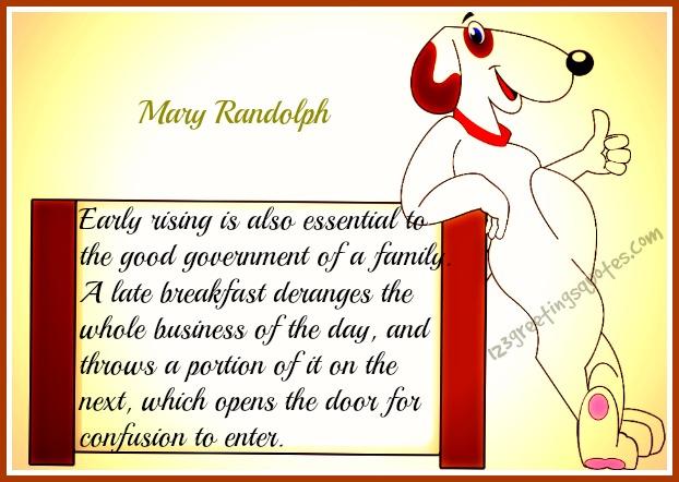 Mary Randolph Quotes