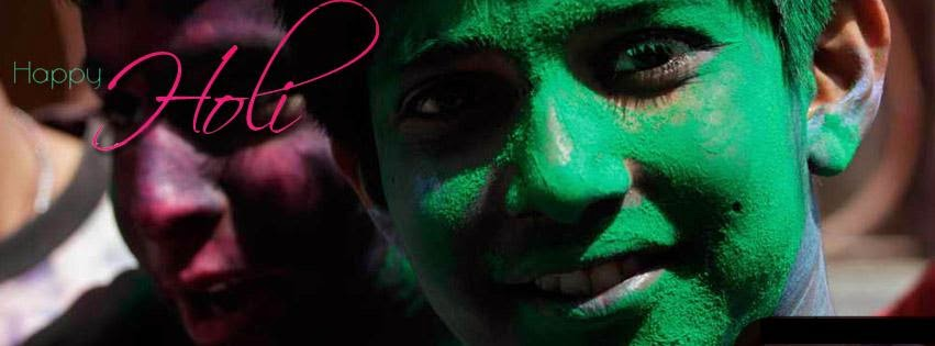 Whatsapp Facebook Hike Cover Image for Holi