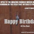 Happy Birthday Words of Wisdom