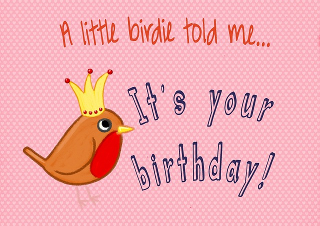 Birthday Card Template for Friends