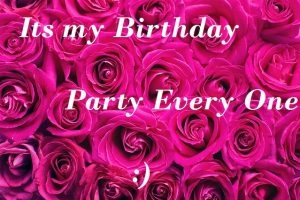 self birthday words Images