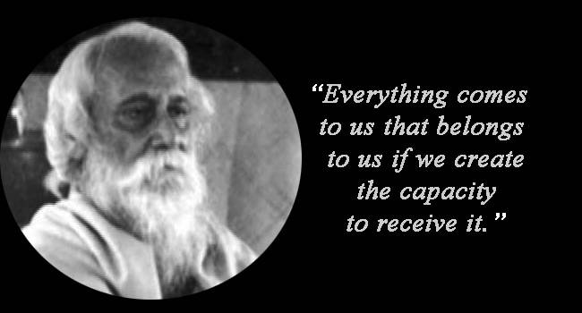 Rabindranath Tagore Quotes in KANNADA language - Best