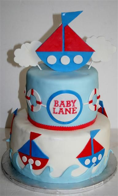Baby Shower Cakes for baby Boy