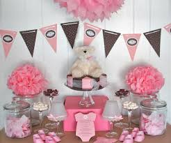 Easy Baby Shower Decorations for girl baby
