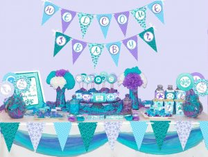 inexpensive Baby Shower Decoration for boy baby girl