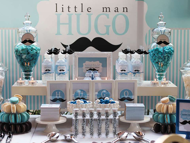 inexpensive Baby Shower Decoration for boy baby