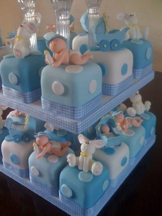 weird Baby Shower Cakes for Boy