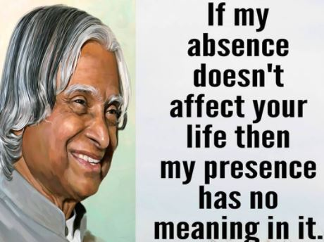 APJ Abdul Kalam Quotes for Young Students Success in Education