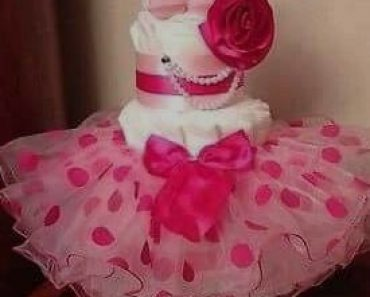 Girl - Baby Shower Cakes