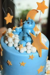 Baby Shower Cakes for boy baby home made