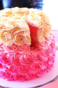 Baby Shower Cakes for girl baby