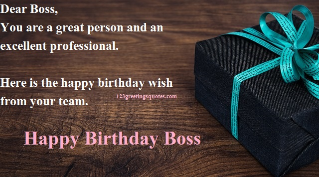 Professional Happy Birthday Quotes: Professional Message On Happy
