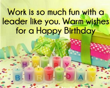 Team Leader Birthday wishes Images