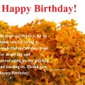 Birthday Wishes for eX bOSS wishes