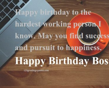 Formal Birthday Quotes for Head