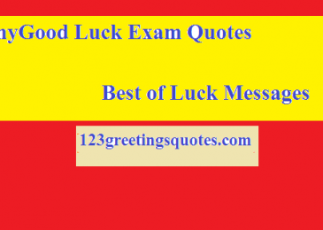 Funny and Good Luck Exam Quotes || Best of Luck Messages