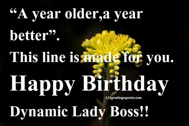 Happy birthday boss lady wishes head madam birthday wishes m4hsunfo
